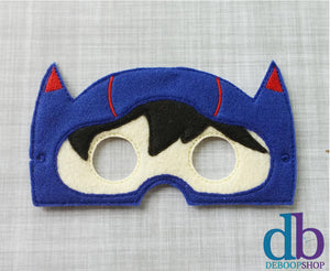 Hiro Hero Felt Play Mask