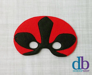 Red Ranger Felt Play Mask