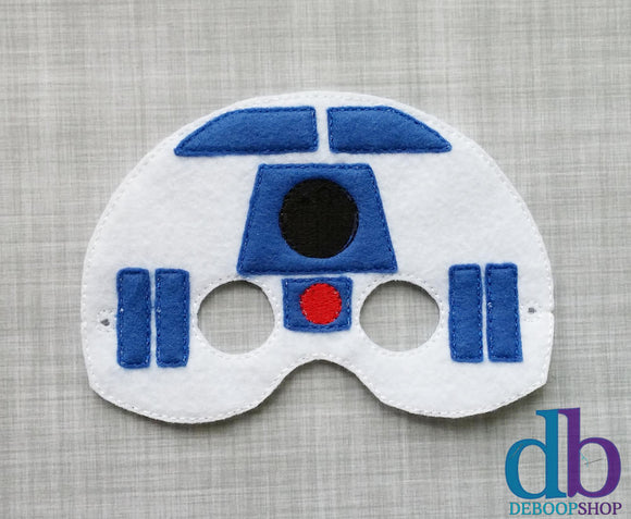 R2 Unit Felt Play Mask
