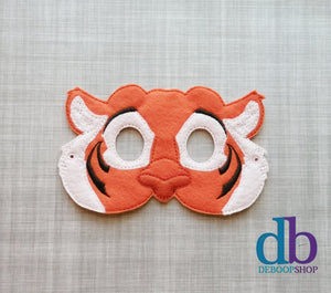 Raja the Tiger Felt Play Mask