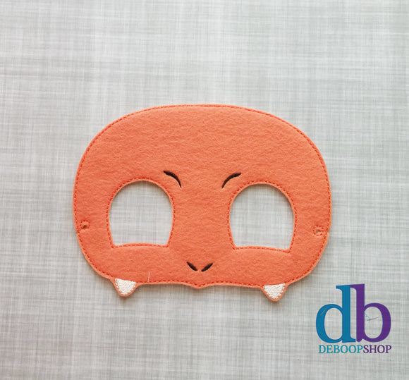 Charmander Felt Play Mask