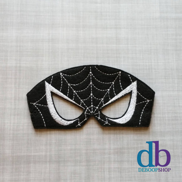 Spider Villain Felt Play Mask