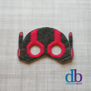 Antman Felt Play Mask from DeBoop Shop