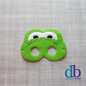 Yoshi the Green Dinosaur Felt Play Mask