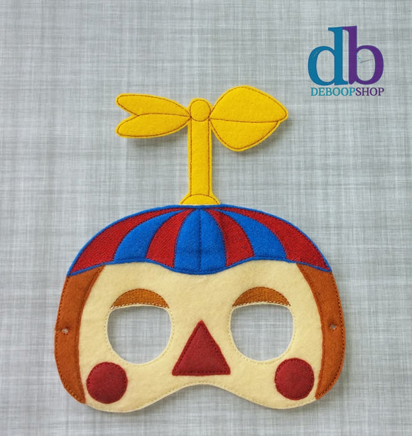 Five Nights at Freddy's Balloon Boy Felt Play Mask from DeBoop Shop