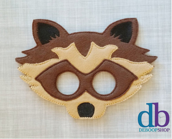 Raccoon Felt Play Mask