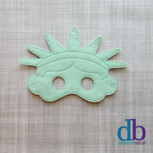 Lady Liberty Play Felt Mask