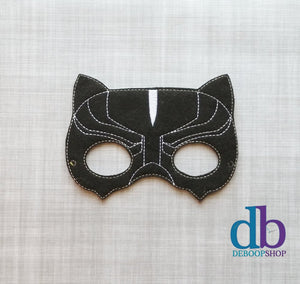 Black Panther Felt Play Mask