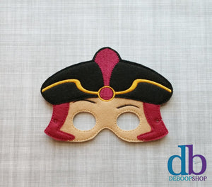 Villainous Wizard Felt Play Mask