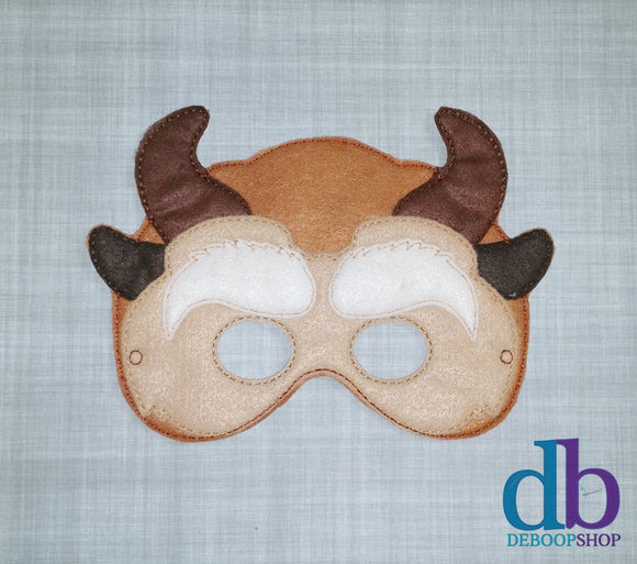Beast Felt Play Mask from DeBoop Shop