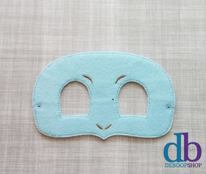 Squirtle Felt Play Mask