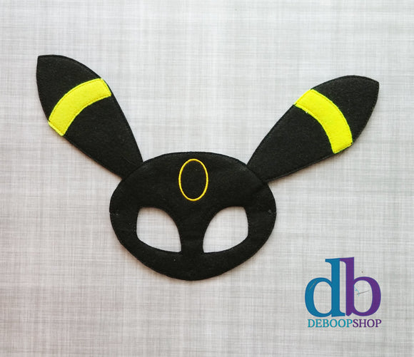 Umbreon Felt Play Mask