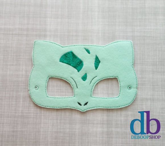 Bulbasaur Felt Play Mask