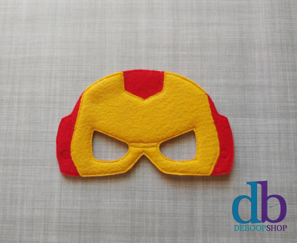 Iron Hero Felt Play Mask