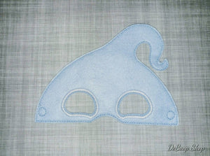 Demi Blue Ghost Felt Play Mask