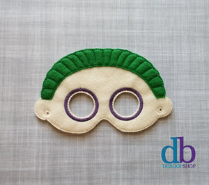 Halloween Town Barrel Felt Play Mask from DeBoop Shop