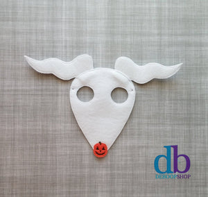 Ghost Dog Felt Play Mask