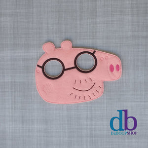 Daddy Pig Felt Play Mask
