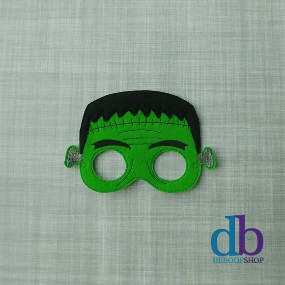 Frankenstein Green Monster Felt Play Mask