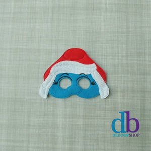 Smurf Willow Felt Play Mask