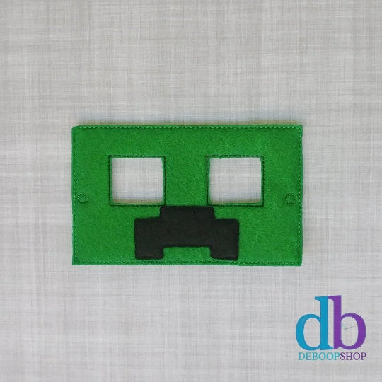Creeper Minecraft Felt Play