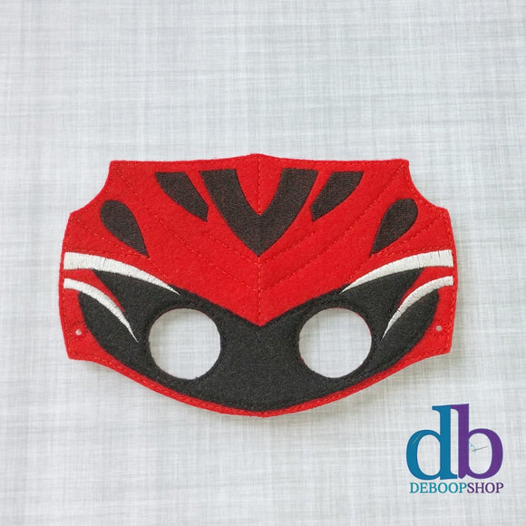 New Red Ranger Felt Play Mask