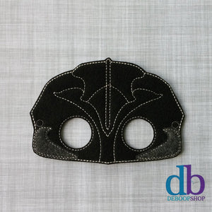 New Black Power Ranger Felt Play Mask