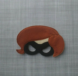 Elastigirl Super Mom Felt Play Mask