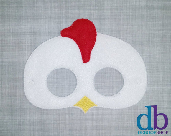 Chicken Felt Play Mask