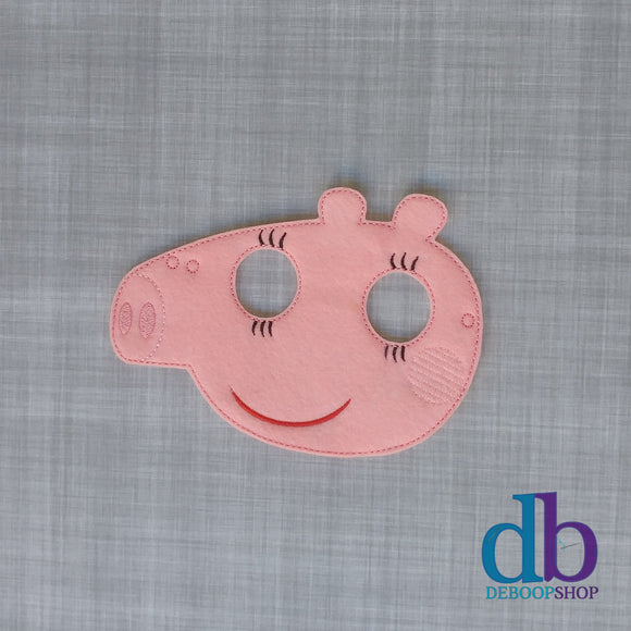 Mummy Pig Felt Play Mask