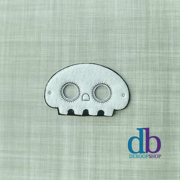 Skelli Skeleton Felt Play Mask