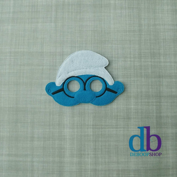 Brainy Smurf Felt Play Mask