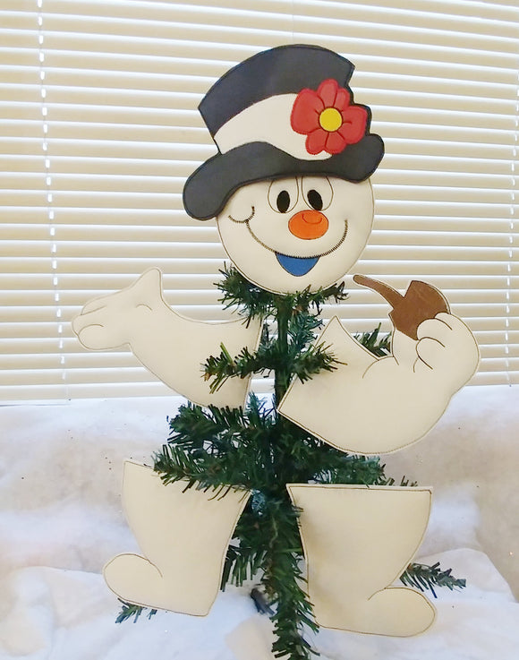 Snowman Tree/Wreath Decoration