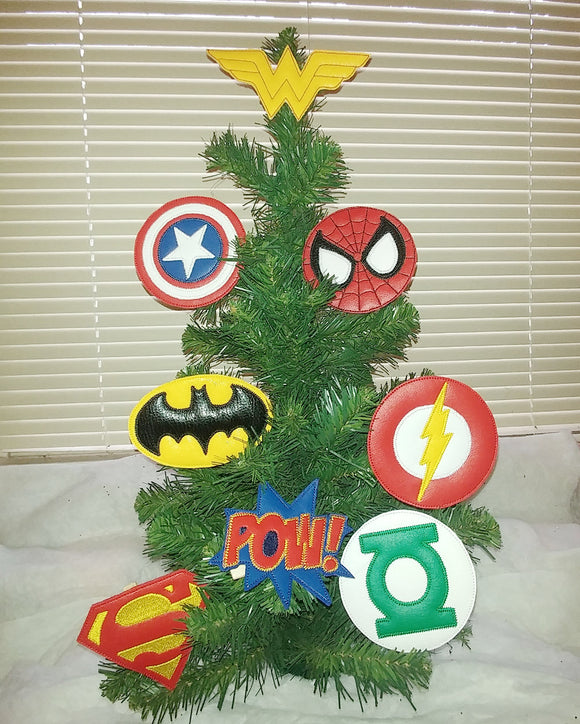 Super Hero Tree/Wreath Decoration