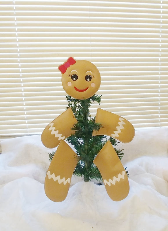 Gingerbread Girl Tree/Wreath Decoration