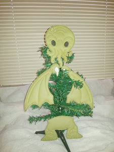 Cthulhu Tree/Wreath Decoration