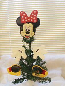 Mouse Girl Tree/Wreath Decoration