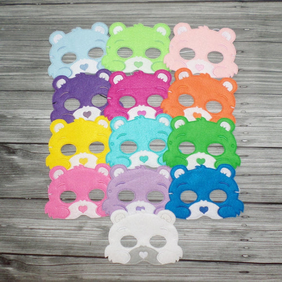 Care Bear Felt Play Mask