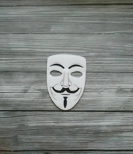 Guy Fawkes Inspired Felt Play  Mask