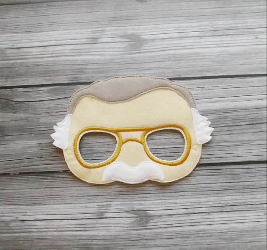 Stan Lee Felt Play Mask