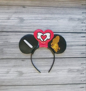 Lion King Inspired Mouse Ears Headband
