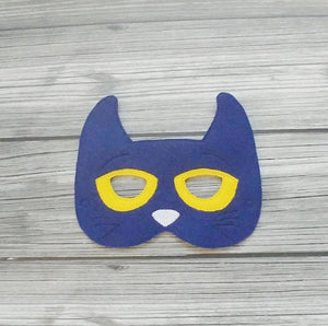 Pete the Cat Felt Play Mask
