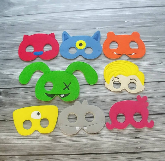 Ugly Dolls Felt Play Masks