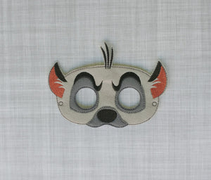 Hyena Felt Play Mask