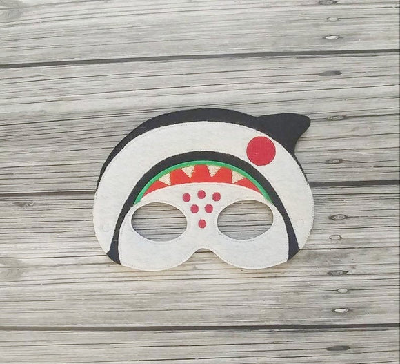 Sandworm Felt Play Mask