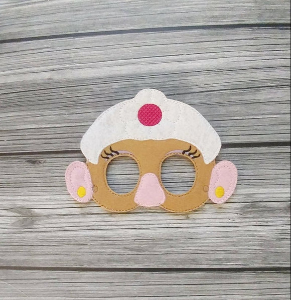 Mrs. Potatohead Felt Play Mask