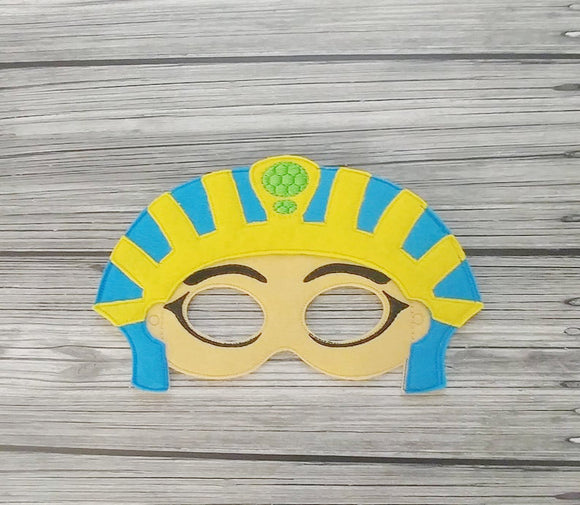 Egyptian Pharaoh Felt Play Mask
