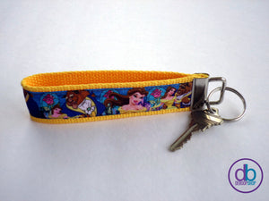 Beauty & the Beast Keychain