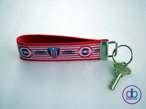 Captain America Key Fob