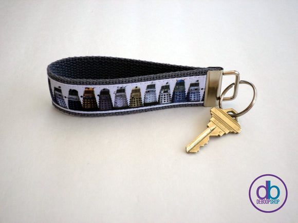 Doctor Who Dalek Keyring